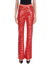 Patrizia Pepe Trousers - Red