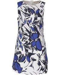Vanessa Bruno - Short Dress - Lyst