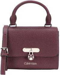 Calvin Klein Handbag - Purple