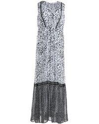 Blugirl Blumarine Long Dress - Black