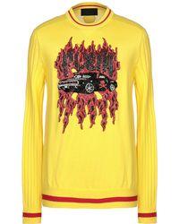 Philipp Plein Sweater - Yellow