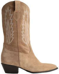 8 by YOOX Knee Boots - Natural