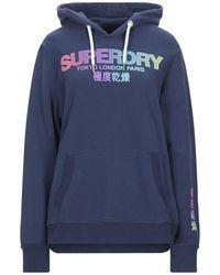 Superdry Sweat-shirt - Bleu