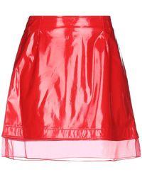 BROGNANO Mini Skirt - Red