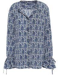 10 Crosby Derek Lam Shirt - Blue