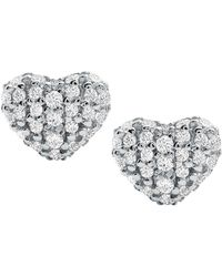 Michael Kors Stainless Steel Cubic Zirconia Stud Earrings - Multicolour