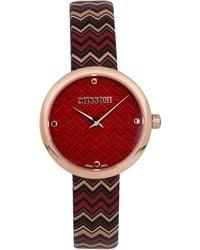 Missoni Wrist Watch - Multicolour