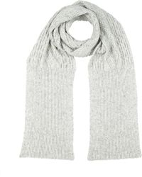 MM6 by Maison Martin Margiela Oblong Scarf - Gray