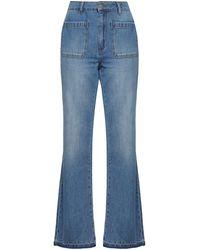 Anine Bing Denim Pants - Blue