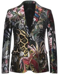 Roberto Cavalli Suit Jacket - Green