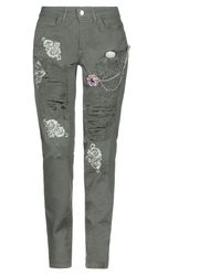 Relish Denim Trousers - Multicolour
