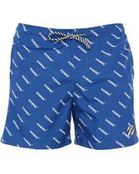 Daniele Alessandrini Homme Swimming Trunks - Blue