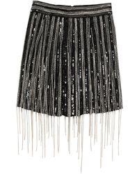 Amen Mini Skirt - Black