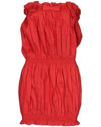 Anna K - Short Dress - Lyst