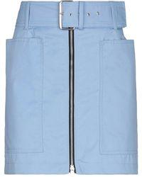 Department 5 Mini Skirt - Blue