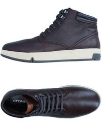 Stonefly Trainers - Brown