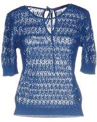 Blue Les Copains Jumper - Blue