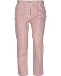 Etro Denim Trousers - Pink