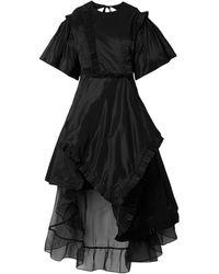 Preen By Thornton Bregazzi Vestido midi - Negro