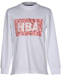 Hood By Air Camiseta - Blanco