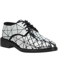 Pinko Zapatos de cordones - Metálico