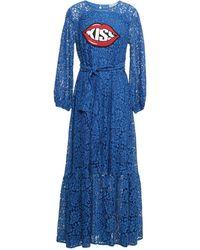 History Repeats Long Dress - Blue