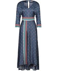 Maje Vestito longuette - Blu