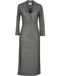 Aglini - Knee-length Dresses - Lyst