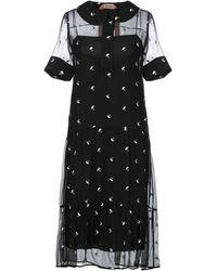 N°21 3/4 Length Dress - Black