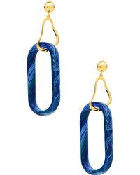 Ejing Zhang Earrings - Blue