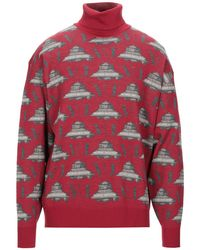 Undercover Turtleneck - Red