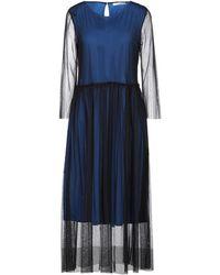 Caractere Midi Dress - Blue
