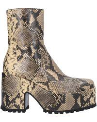 Dries Van Noten Ankle Boots - Multicolour