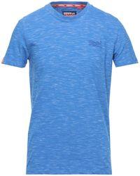 Superdry T-shirt - Bleu