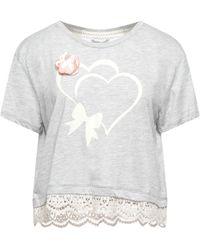Maison Espin T-shirt - Grey