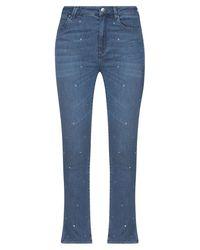 Ean 13 Denim Trousers - Blue