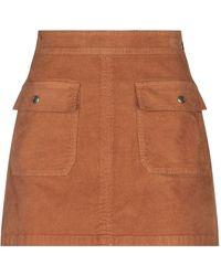 FRAME Mini Skirt - Brown