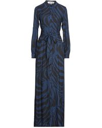 Diane von Furstenberg Vestido largo - Azul