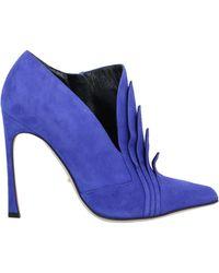 Sergio Rossi Bottines cheville - Bleu