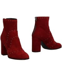 Belstaff Ankle Boots - Red