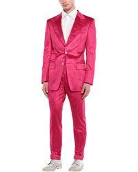 Tom Ford Anzug - Rot