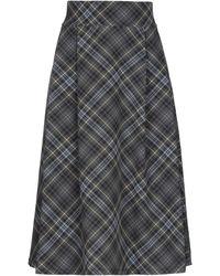 Caractere 3/4 Length Skirt - Grey