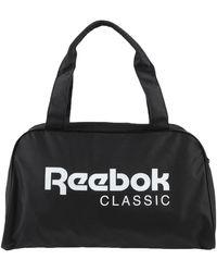 Reebok Reisetasche - Schwarz