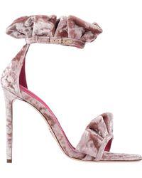 Oscar Tiye Sandals - Pink