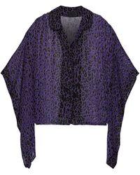 Anna Sui Shirt - Purple