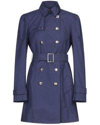 Dondup Overcoat - Blue