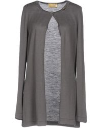 Ean 13 Cardigan - Gray