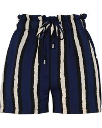 Lavand Shorts - Blue