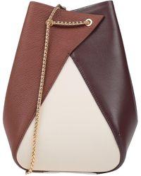 the VOLON Cross-body Bag - Brown