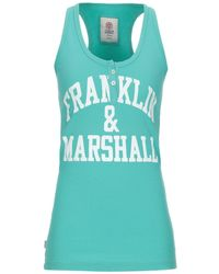 Franklin & Marshall Camiseta de tirantes - Azul